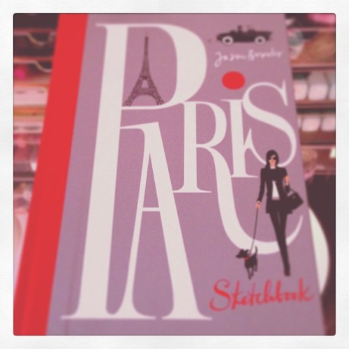 Paris Sketchbook, by Jason Brooks
