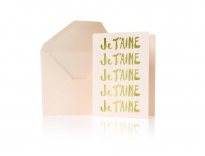 GOOP EXCLUSIVE JE T'AIME NOTE CARD SET