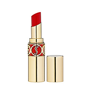 Gorgeous packaging and an intense and very beautiful red, Yves Saint Laurent ROUGE VOLUPTÉ - Silky Sensual Radiant Lipstick SPF 15 in 17 Red Muse $34